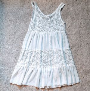 PPLA Dresses - 3 for $19 🔥 Sheer lacy white dress